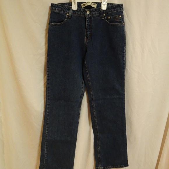 Harley Davidson Women/'s Stretch Boot Cut Jeans